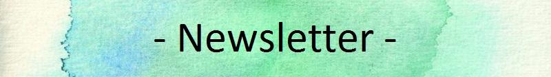 Vorlage Newsletter mit Schrift
